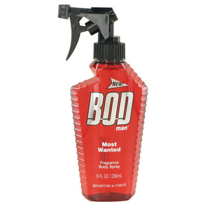 Bod Man Most Wanted 4.00 oz Fragrance Body Spray For Men by Parfums De Coeur