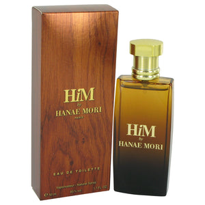 Hanae Mori Him Eau De Toilette Spray For Men by Hanae Mori