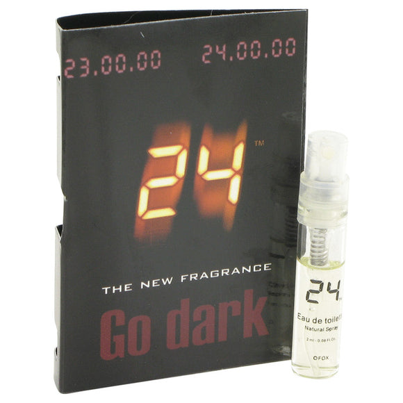 24 Go Dark The Fragrance 0.04 oz Vial (sample) For Men by ScentStory
