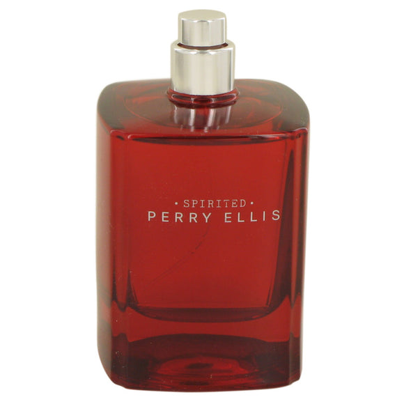 Perry Ellis Spirited Eau De Toilette Spray (Tester) For Men by Perry Ellis