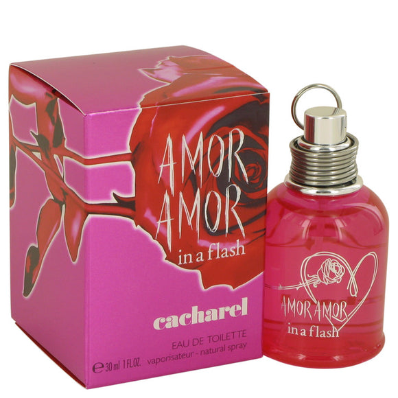Amor Amor in a Flash Eau De Toilette Spray For Women by Cacharel