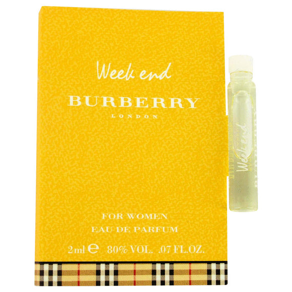 Weekend Vial (sample) For Women by Burberry