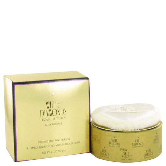 WHITE DIAMONDS Body Powder Refill For Women by Elizabeth Taylor