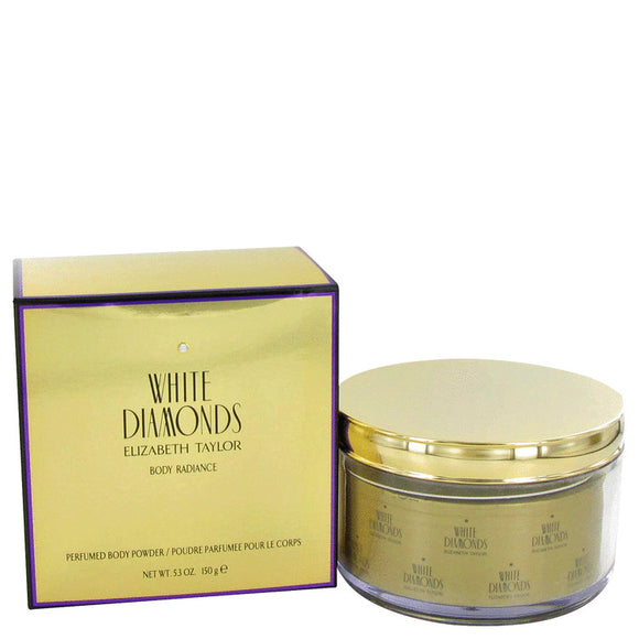 WHITE DIAMONDS Body Powder Refillable For Women by Elizabeth Taylor