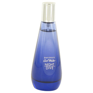 Cool Water Night Dive Eau De Toilette Spray (Tester) For Women by Davidoff