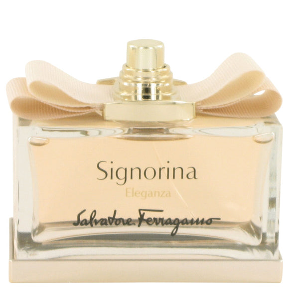 Signorina Eleganza Eau De Parfum Spray (Tester) For Women by Salvatore Ferragamo