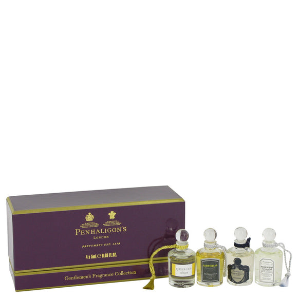 Blenheim Bouquet Gift Set  Deluxe Mini Gift Set Includes Blenheim Bouquet, Endymion, Quercus and Sartorial For Men by Penhaligon`s