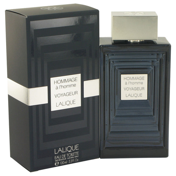Hommage A L`homme Voyageur Eau De Toilette Spray For Men by Lalique