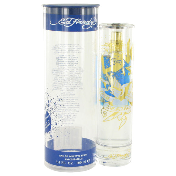 Ed Hardy Love Is Eau De Toilette Spray For Men by Christian Audigier