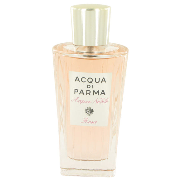 Acqua Di Parma Rosa Nobile 4.20 oz Eau De Toilette Spray (Tester) For Women by Acqua Di Parma