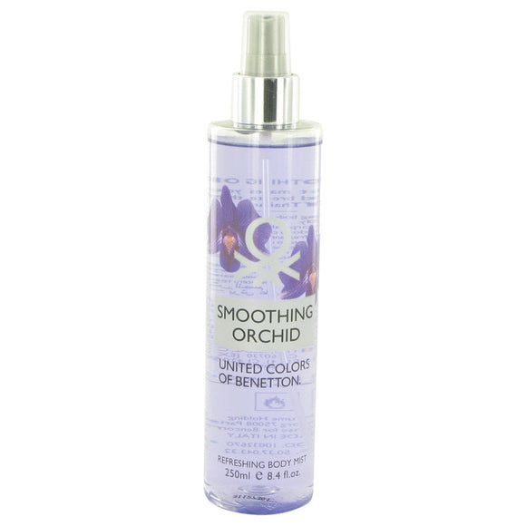 Benetton Smoothing Orchid 8.40 oz Refreshing Body Mist For Women by Benetton