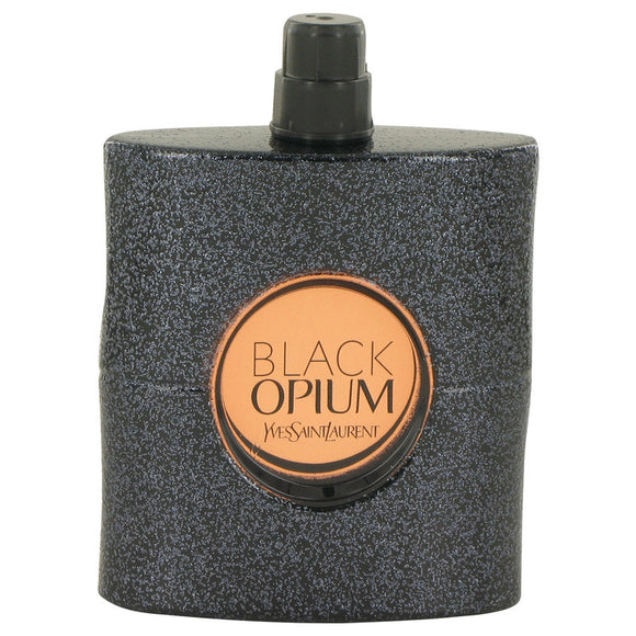 Black Opium 3.00 oz Eau De Parfum Spray (Tester) For Women by Yves Saint Laurent