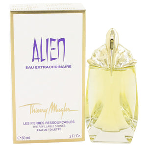 Alien Eau Extraordinaire 2.00 oz Eau De Toilette Spray Refillable For Women by Thierry Mugler