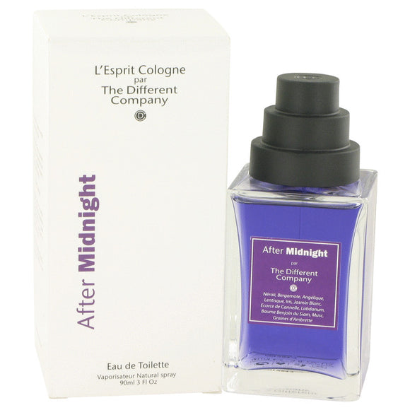 After Midnight 3.00 oz Eau De Toilette Spray (Unisex) For Women by The Different Company