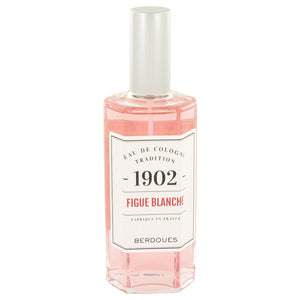 1902 Figue Blanche 4.20 oz Eau De Cologne Spray (Unisex) For Women by Berdoues