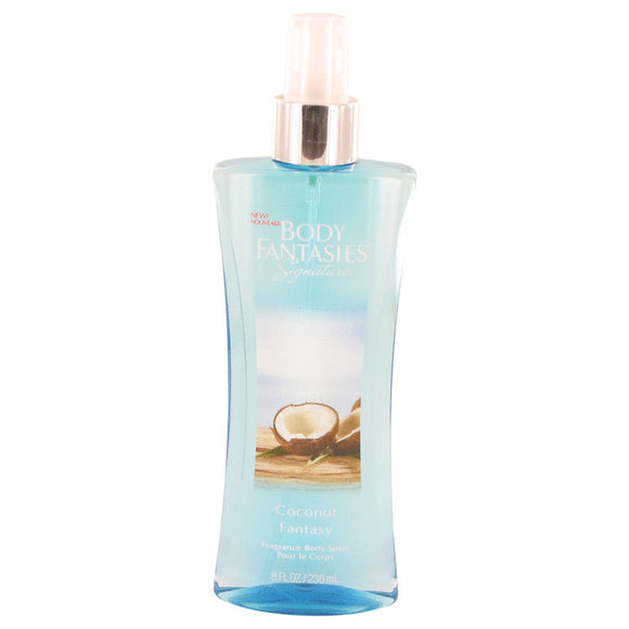 Body Fantasies Signature Coconut Fantasy 8.00 oz Body Spray For Women by Parfums De Coeur