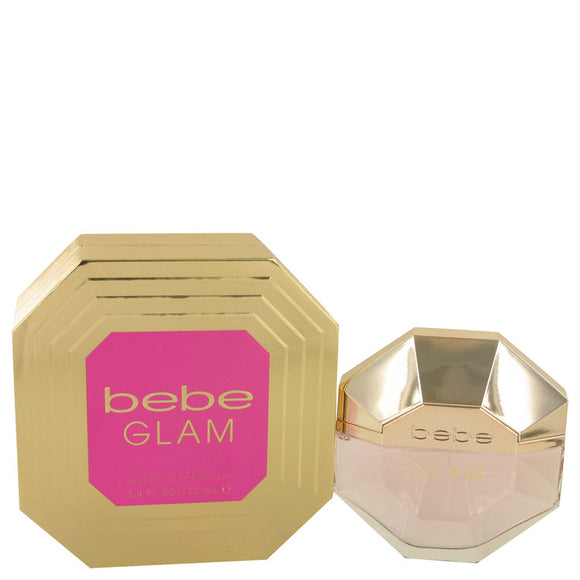Bebe Glam 3.40 oz Eau De Parfum Spray For Women by Bebe