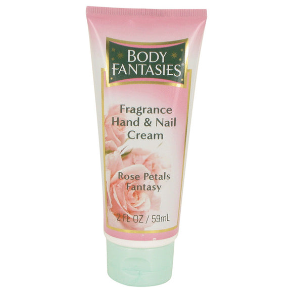 Body Fantasies Signature Rose Petals Fantasy 2.00 oz Hand & Nail Cream For Women by Parfums De Coeur
