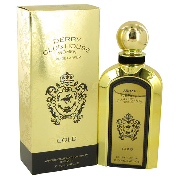 Armaf Derby Club House Gold 3.40 oz Eau De Parfum Spray For Women by Armaf