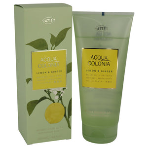 4711 ACQUA COLONIA Lemon & Ginger 6.80 oz Shower Gel For Women by Maurer & Wirtz