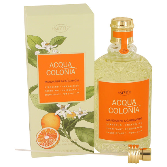 4711 Acqua Colonia Mandarine & Cardamom 5.70 oz Eau De Cologne Spray (Unisex) For Women by Maurer & Wirtz
