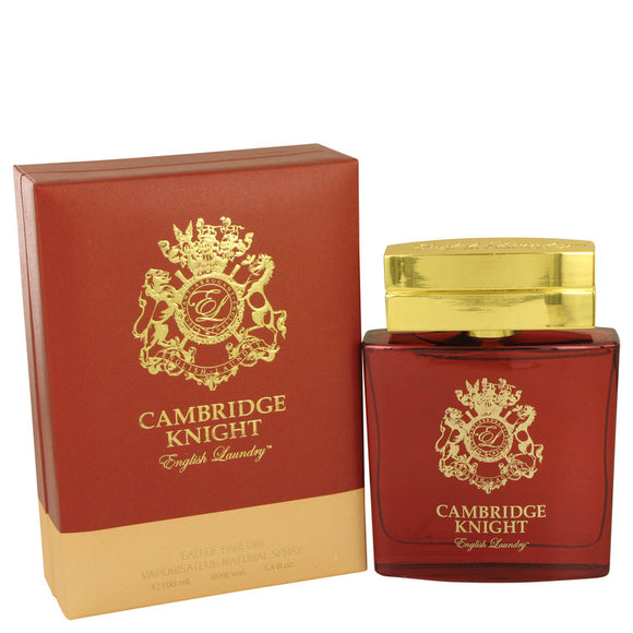 Cambridge Knight 3.40 oz Eau De Parfum Spray For Men by English Laundry
