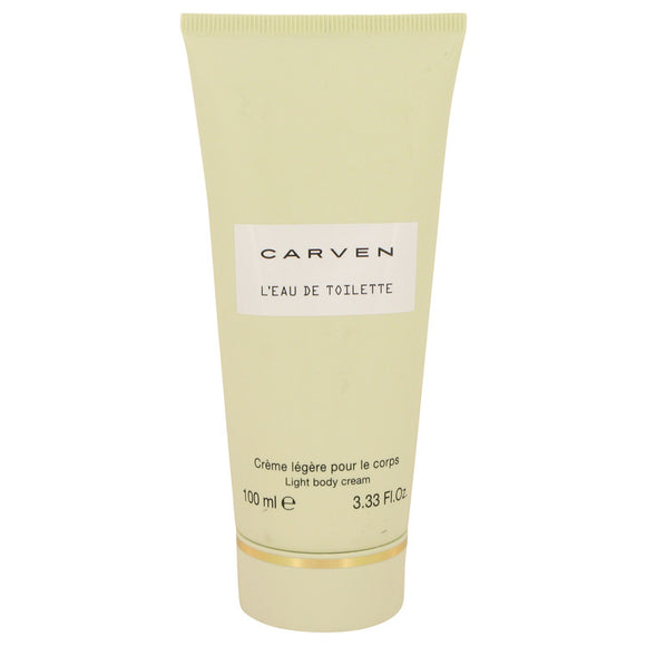 Carven L`eau De Toilette 3.30 oz Body Cream For Women by Carven