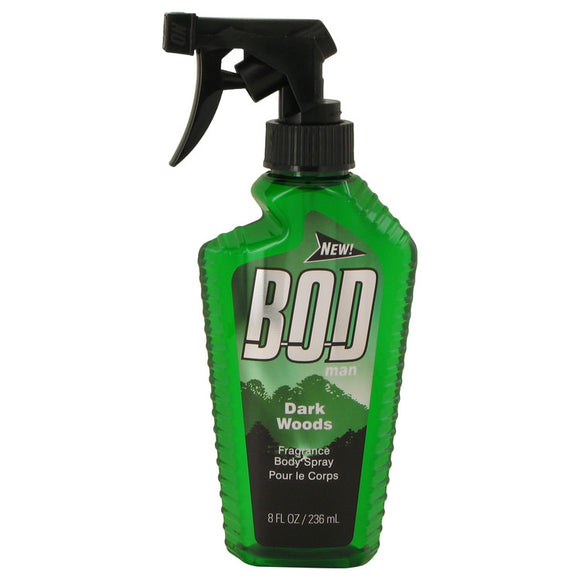 Bod Man Dark Woods 8.00 oz Body Spray For Men by Parfums De Coeur