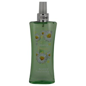Body Fantasies Signature Hearts & Daisies 8.00 oz Body Spray For Women by Parfum De Coeur