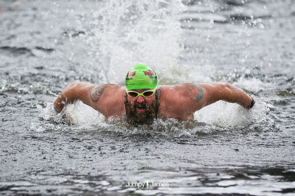 Open water swimmer Fenwick Ridley