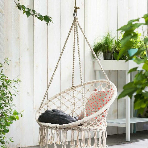 Hamptons Round Outdoor Hammock Chair
