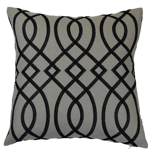 Bianca Black Cover - The Home Accessories Company