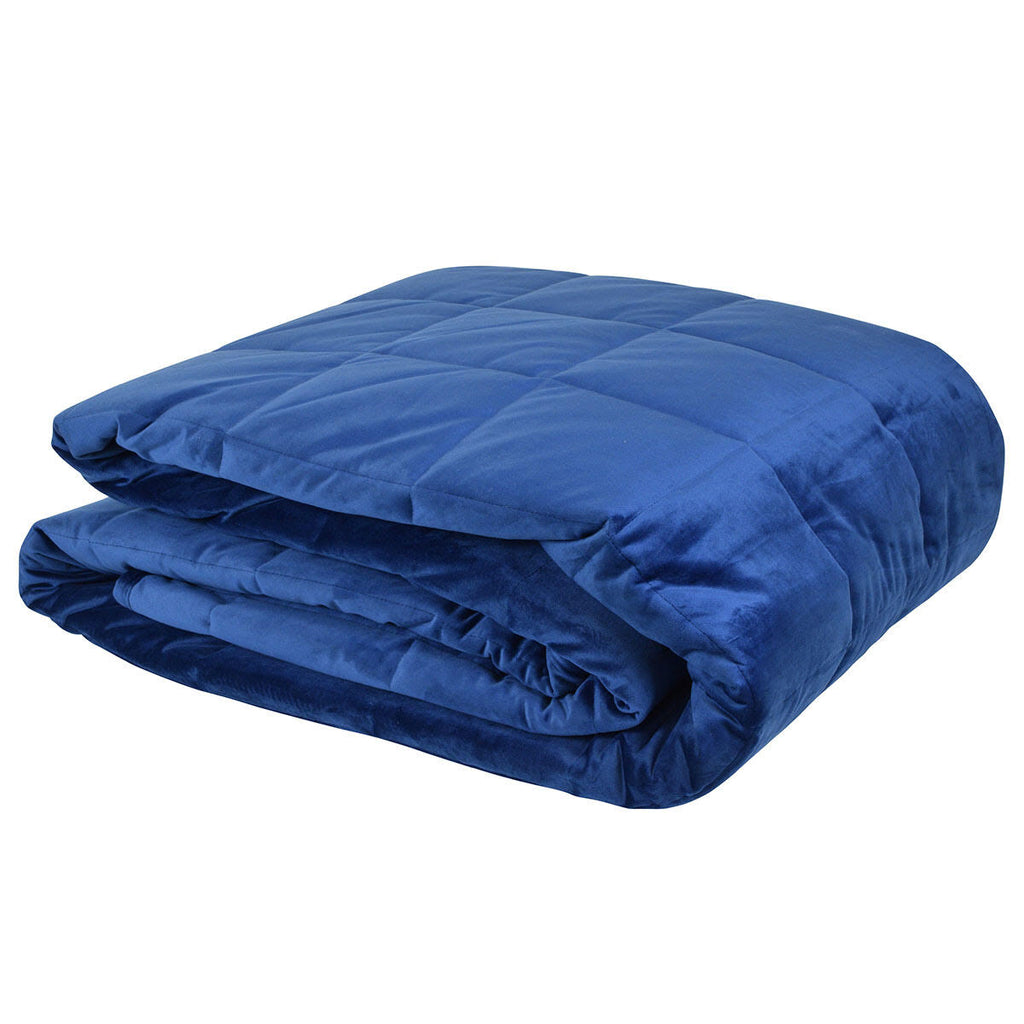 Aria Comforter Navy - The Home Accessories Company