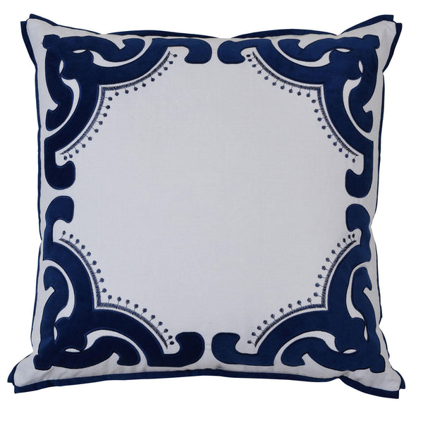Bronte Navy Cover - The Home Accessories Company