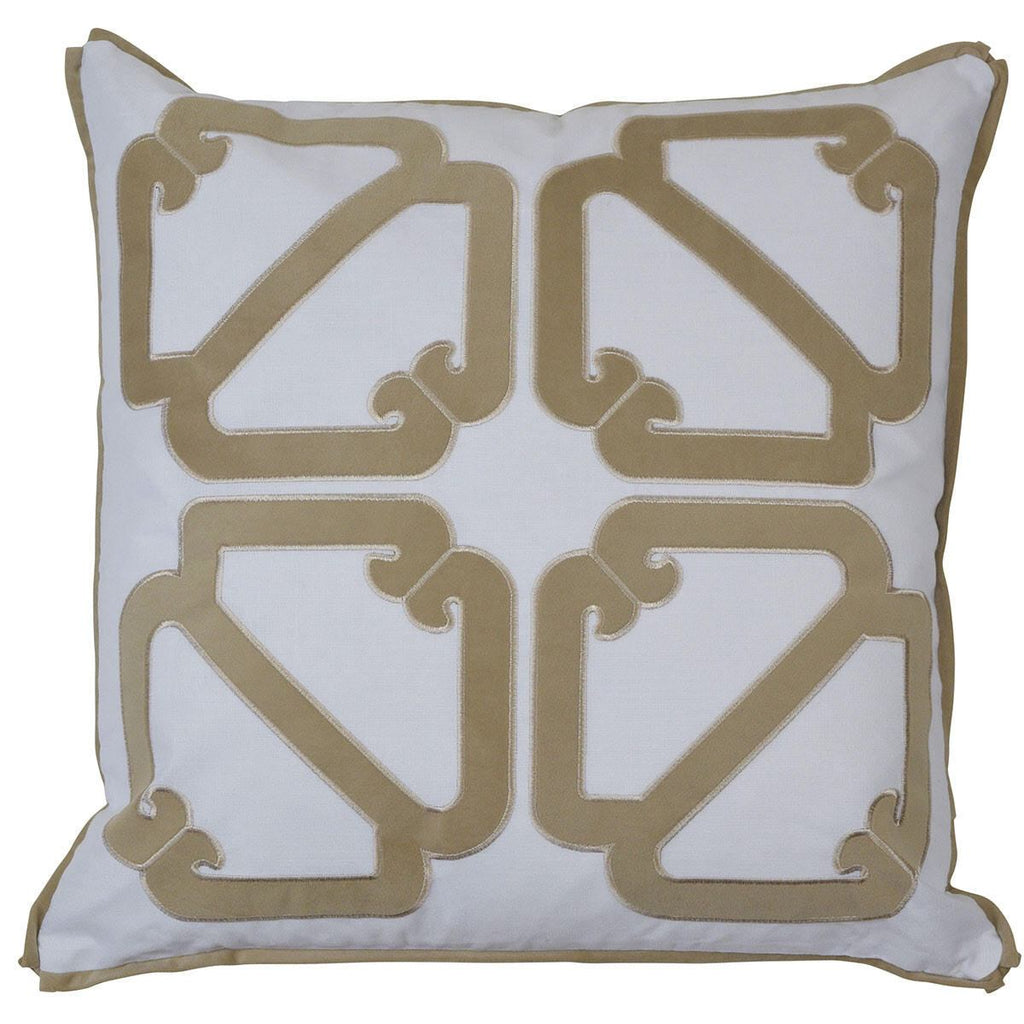 Manly Cushion Cover - Available in Sunshine & Sand - The Home Accessories Company 2