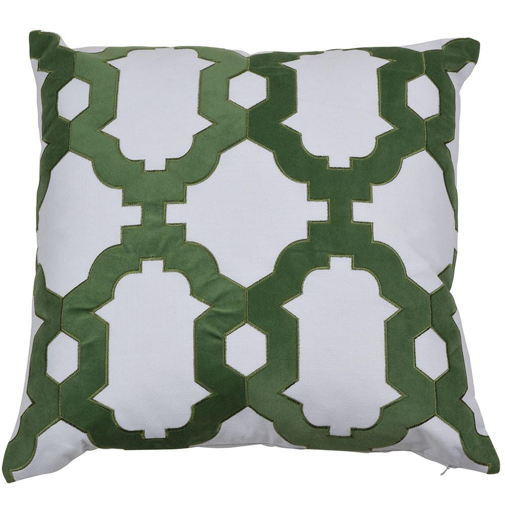 Brighton Cushion Cover - Available in Turquoise & Olive - The Home Accessories Company 1