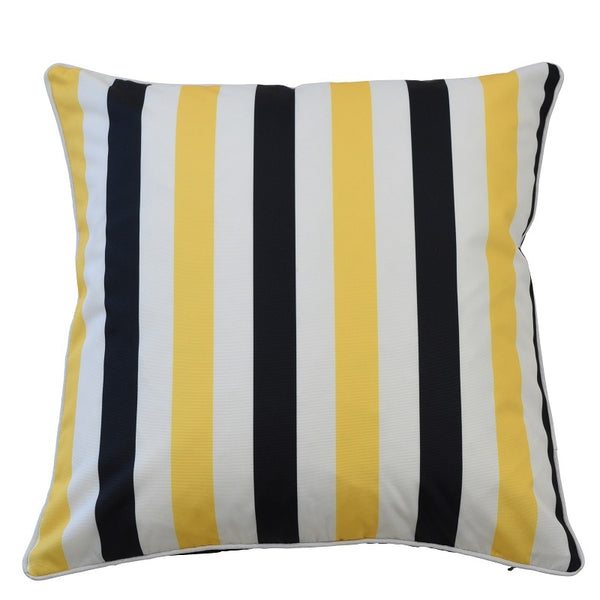 Amalfi Black/Yellow Cover - The Home Accessories Company