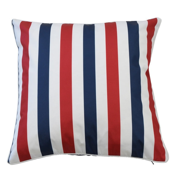 Amalfi Navy/Red Cover - The Home Accessories Company