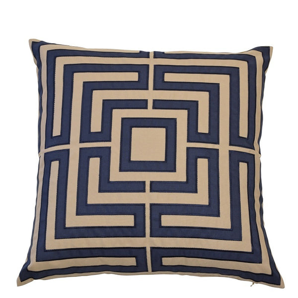 Acapulco Navy Cushion Cover - The Home Accessories Company