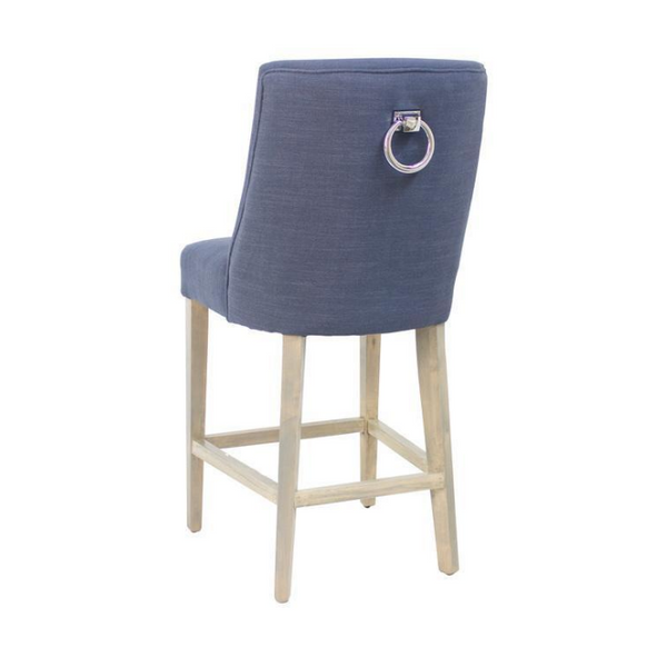 Ophelia Bar Stool - Navy - The Home Accessories Company