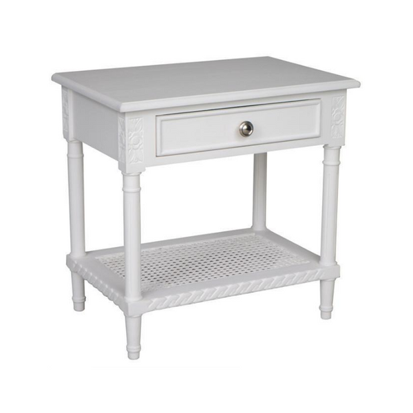 Polo Side Table - White - The Home Accessories Company