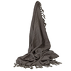 Camargue Throw Taupe - The Home Accessories Company
