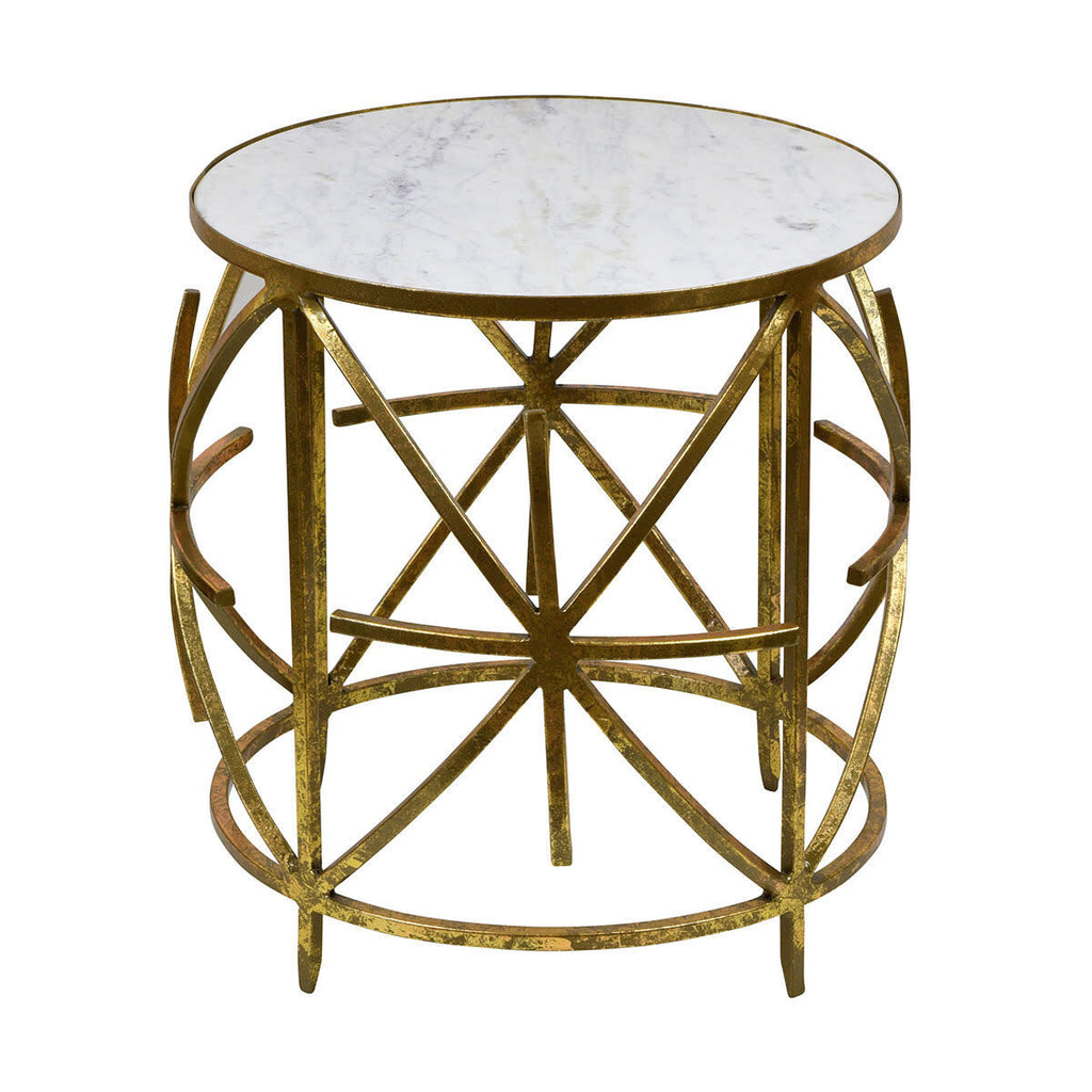 Nikki Marble Top Side Table - The Home Accessories Company