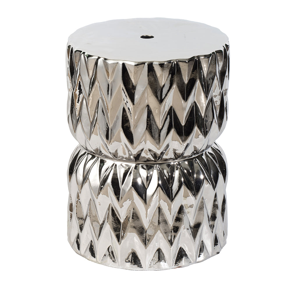 Crystal Ceramic Side Table - The Home Accessories Company