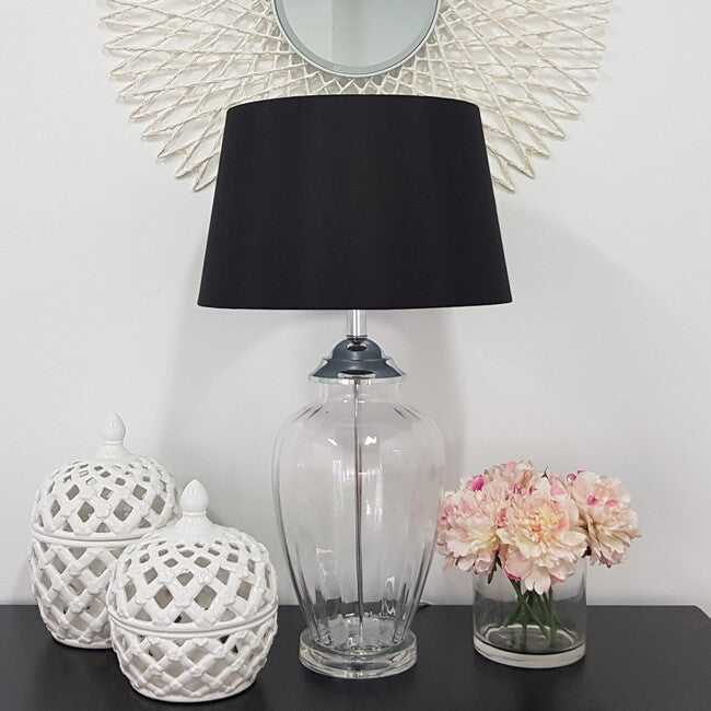 Addison Table Lamp - Black - The Home Accessories Company 1
