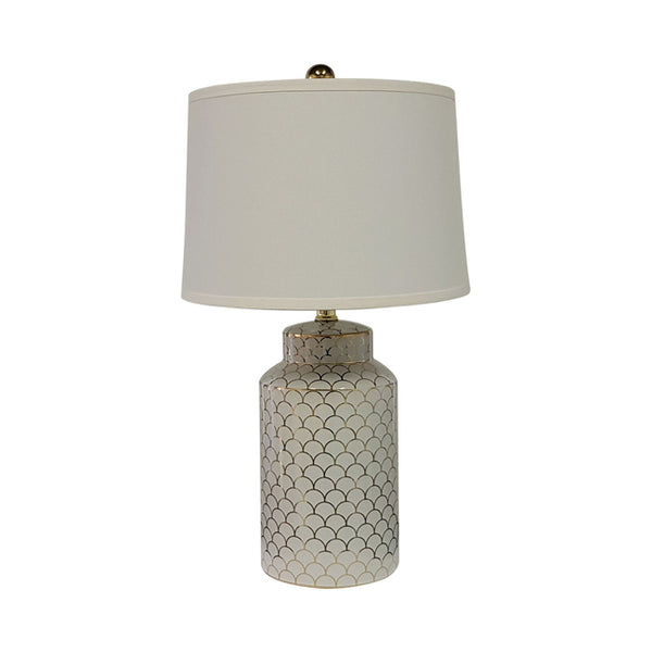 Scale Gold Table Lamp - The Home Accessories Company
