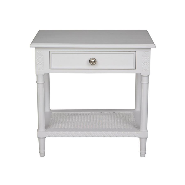 Polo Side Table - White - The Home Accessories Company 2