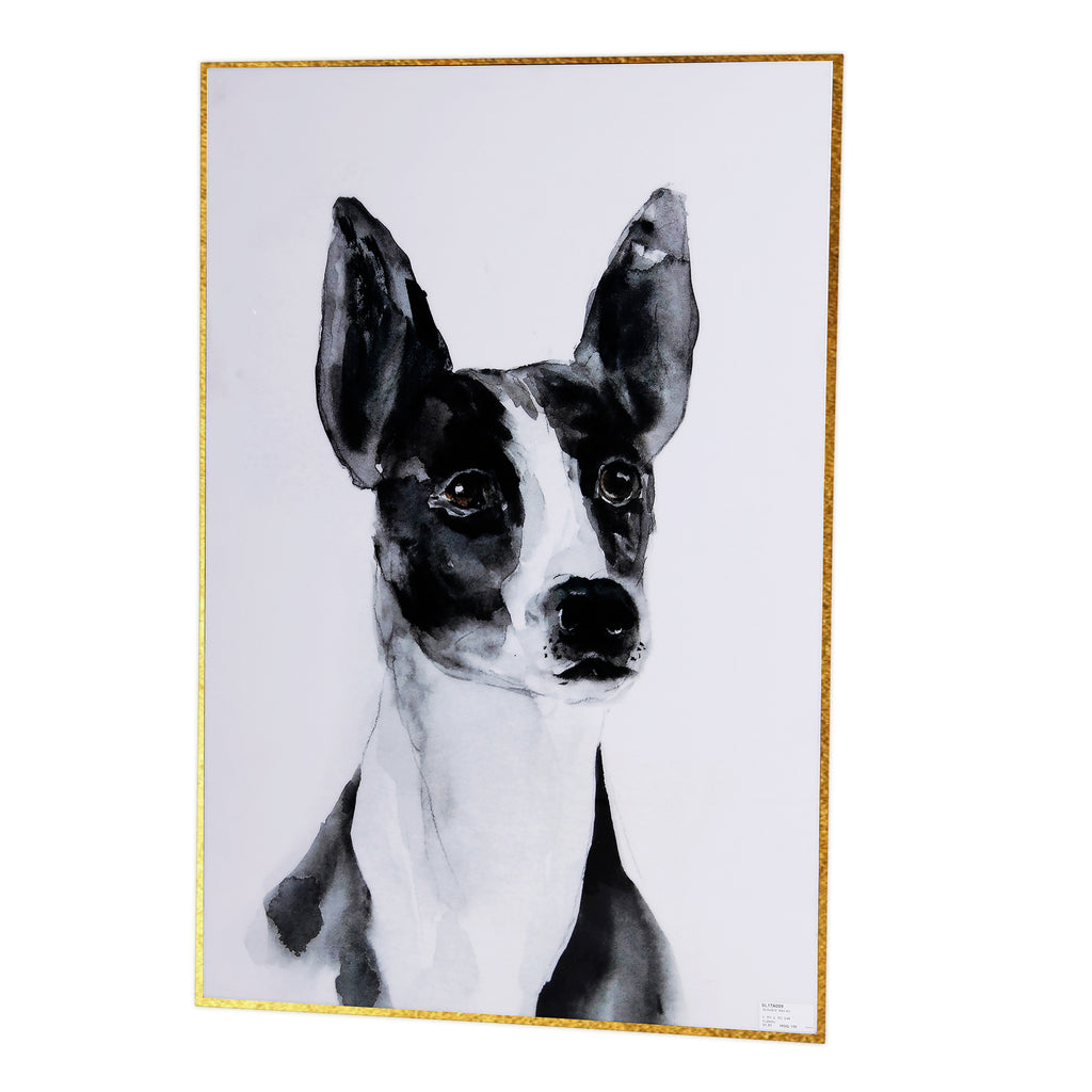 Good Boy Wall Art with Gold Metal Frame - The Home Accessories Company 2