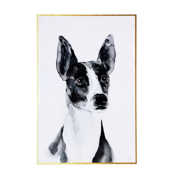 Good Boy Wall Art with Gold Metal Frame - The Home Accessories Company
