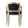 Vintage Black Velvet Lounge Chair - The Home Accessories Company 1